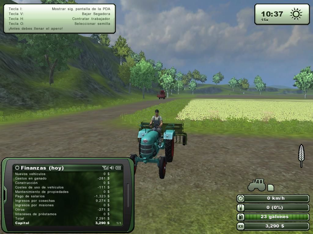 Farming Simulator 2013 Windows Sowing