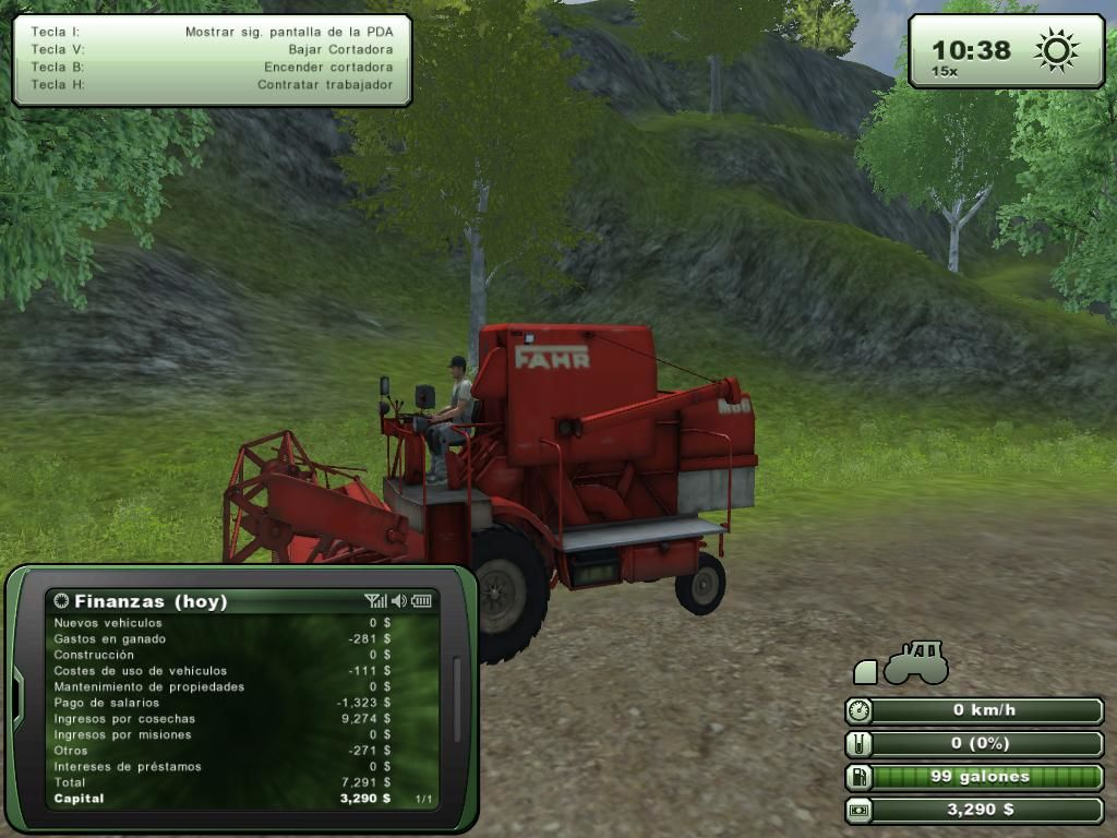 Farming Simulator 2013 Windows Harvester FAHR