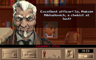 KGB DOS The colonel commends you on your work
