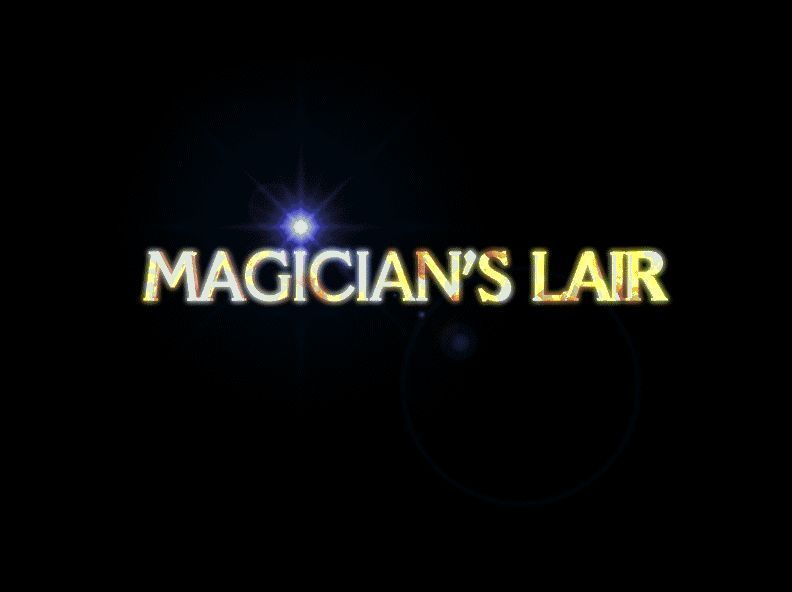 The Games Factory Windows Magician's Lair title screen