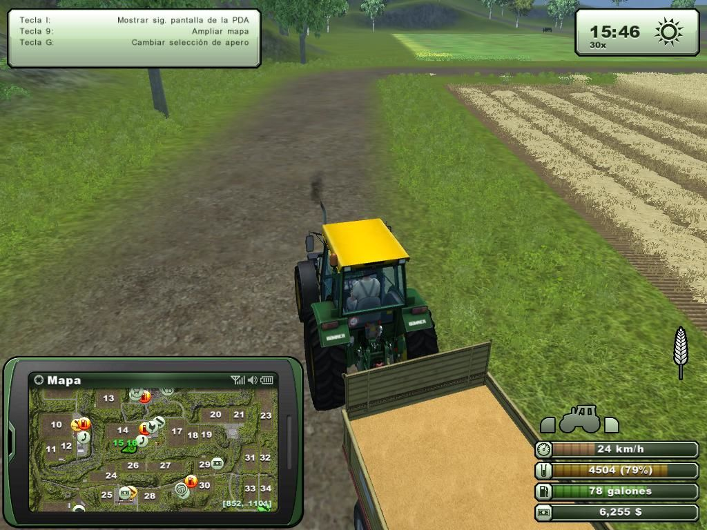 Farming Simulator 2013 Windows Wheat