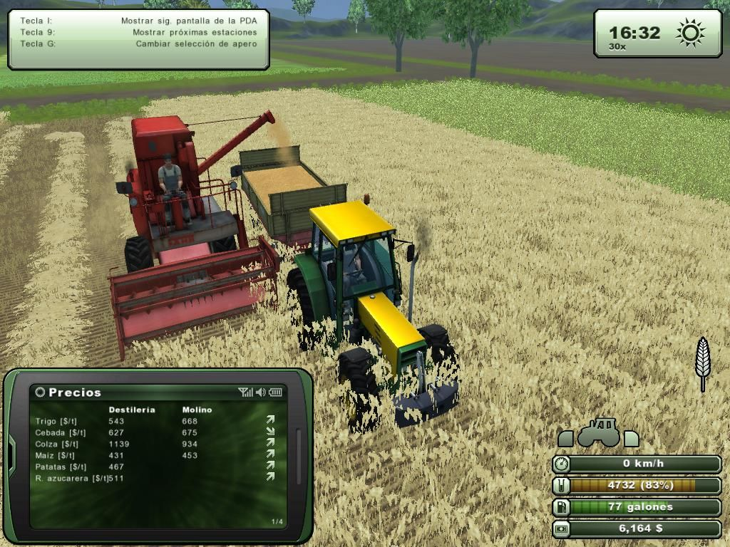 Farming Simulator 2013 Windows Discharging