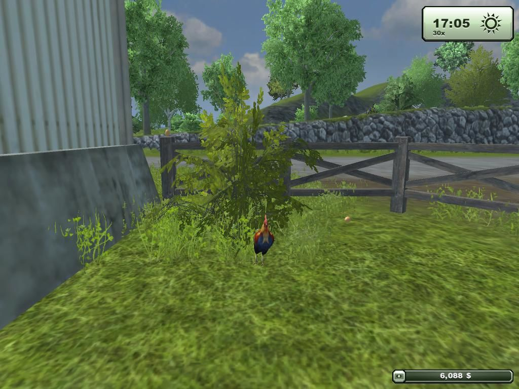 Farming Simulator 2013 Windows the rooster