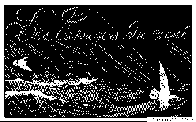 Passengers on the Wind DOS Title screen (CGA)