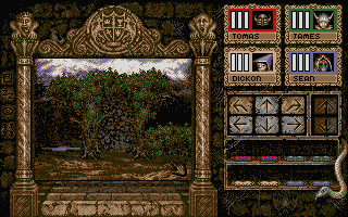 Knightmare Atari ST Walking in the forest