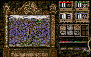 Knightmare Atari ST A switch in the wall, what will it do?