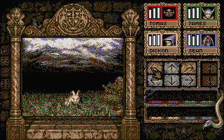Knightmare Atari ST An enemy