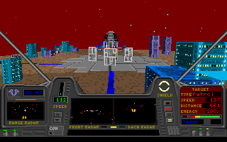 Star Quest I in the 27th Century DOS A mission on a planet's surface.
