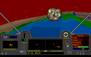 Star Quest I in the 27th Century DOS ...still no reason not to blow 'em up.