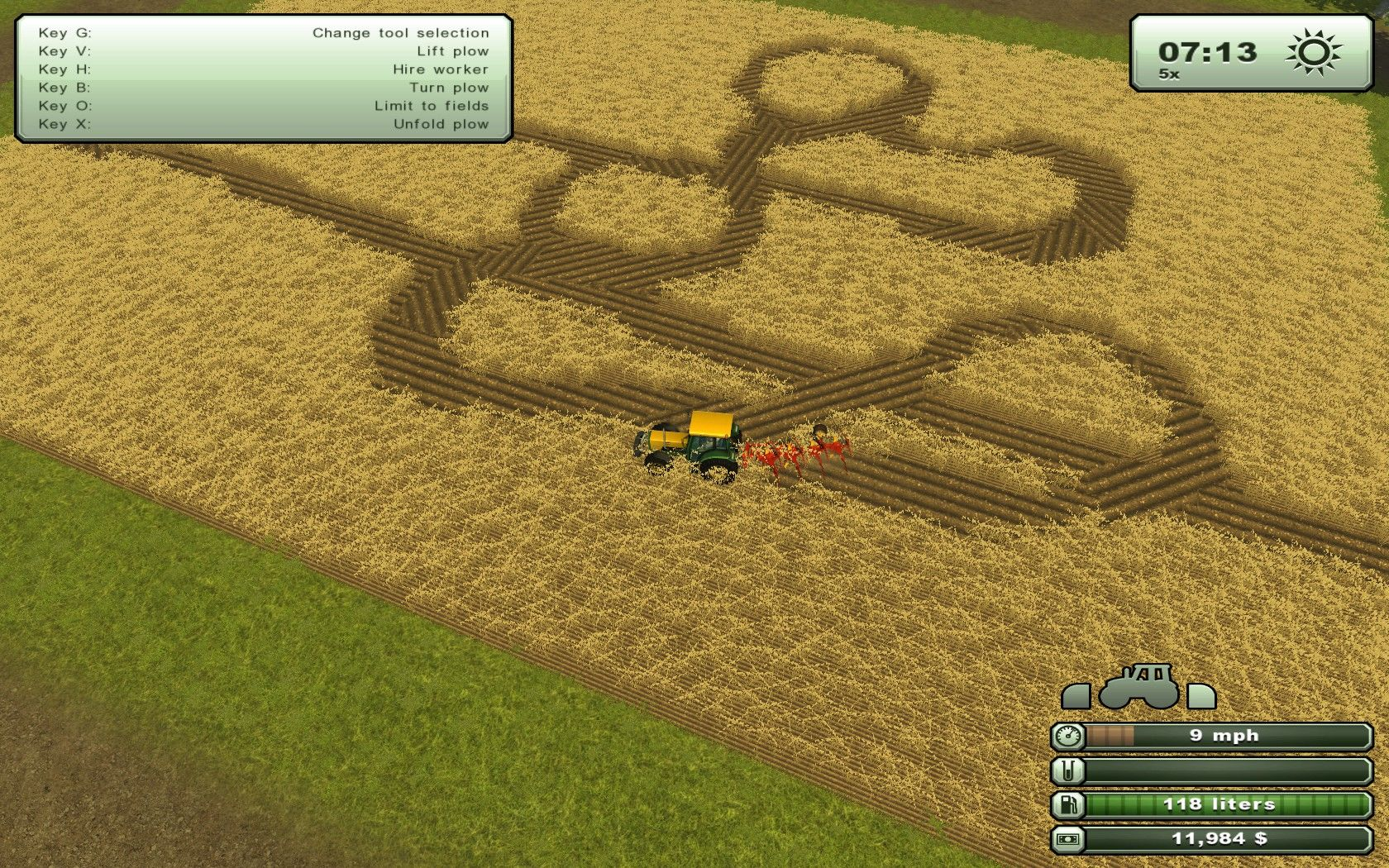 Farming Simulator 2013 Windows Be your own alien! Make crop circles!