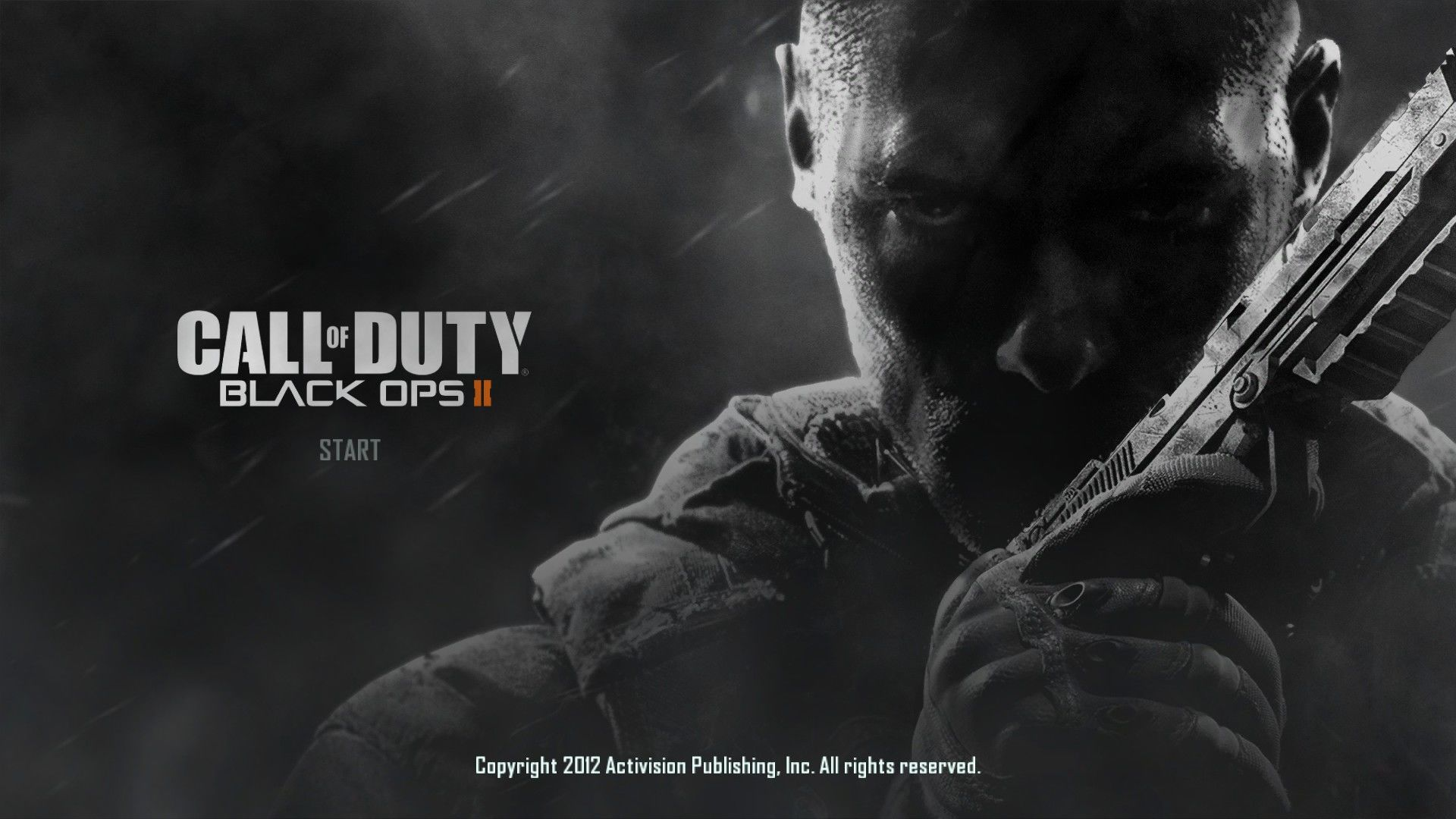 Call of Duty: Black Ops II Windows Title screen