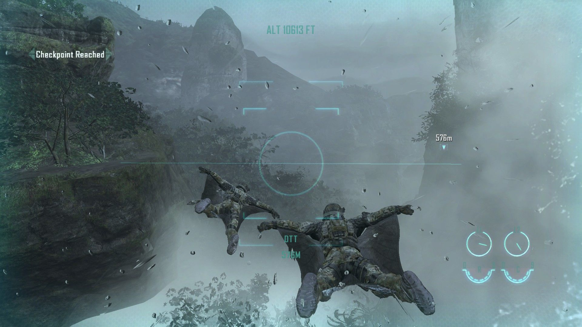 Call of Duty: Black Ops II Windows Flying to the objective in wing suits. Welcome to 2025.