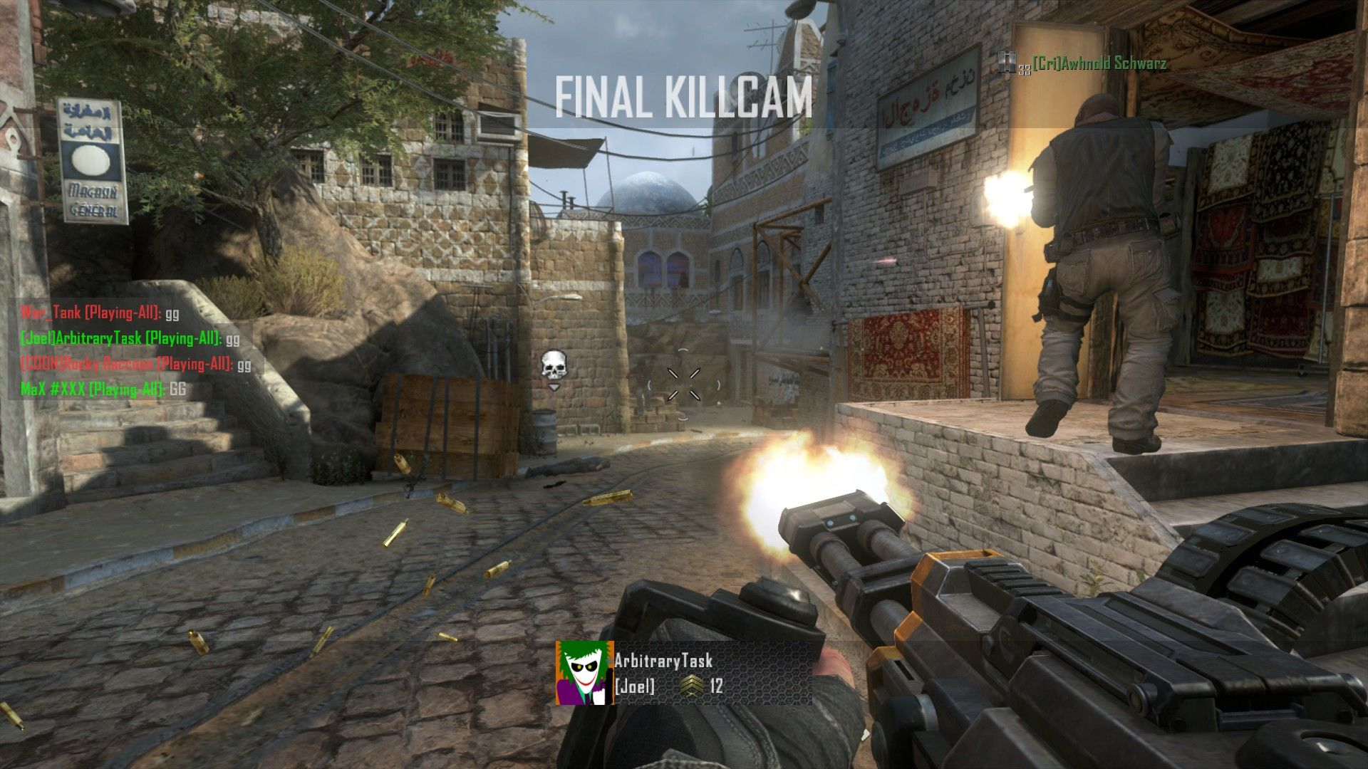 Call of Duty: Black Ops II Windows Death Machine spinning up!