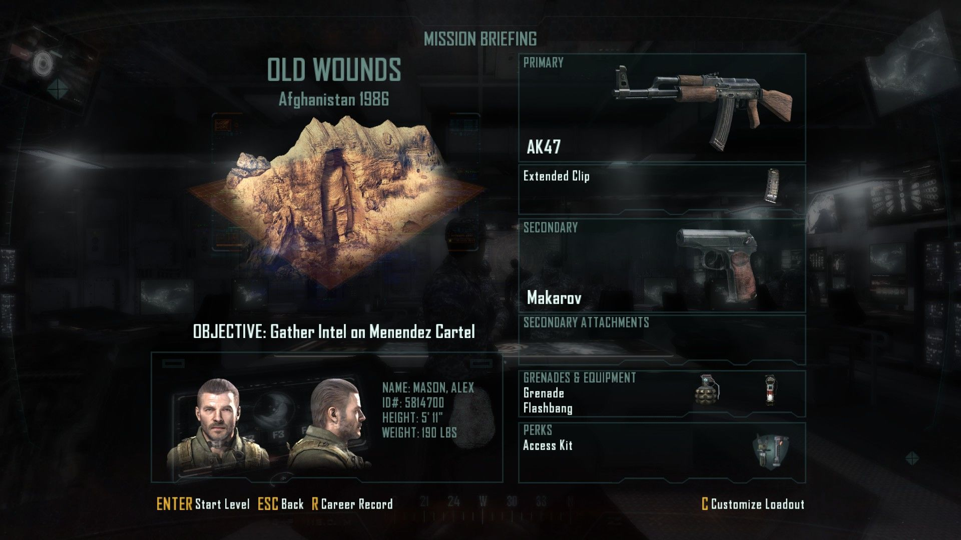 Call of Duty: Black Ops II Windows The campaign now has loadout selection similar to multiplayer.