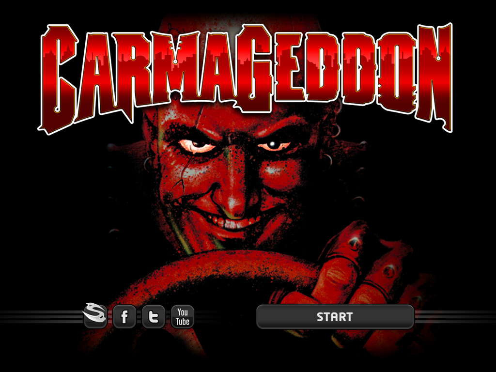 Carmageddon iPad Title screen