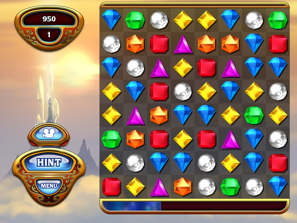 Bejeweled 3 iPad Classic mode
