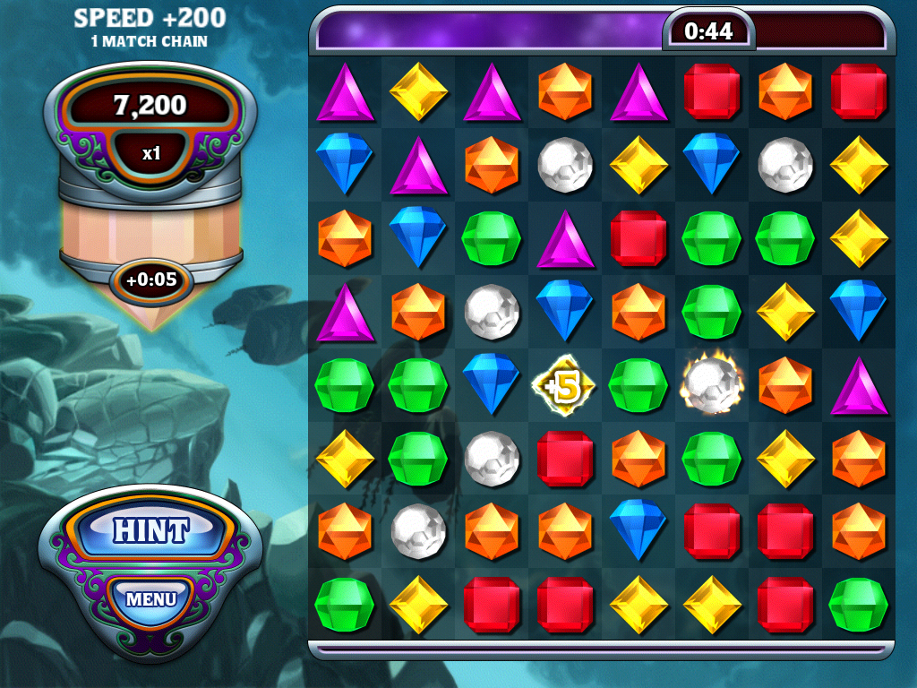 Bejeweled: Classic iPad Lightning mode