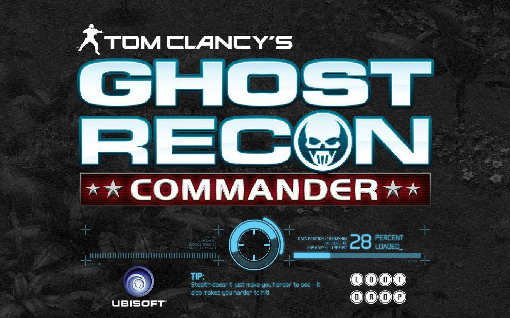 Tom Clancy's Ghost Recon: Commander Browser Loading screen