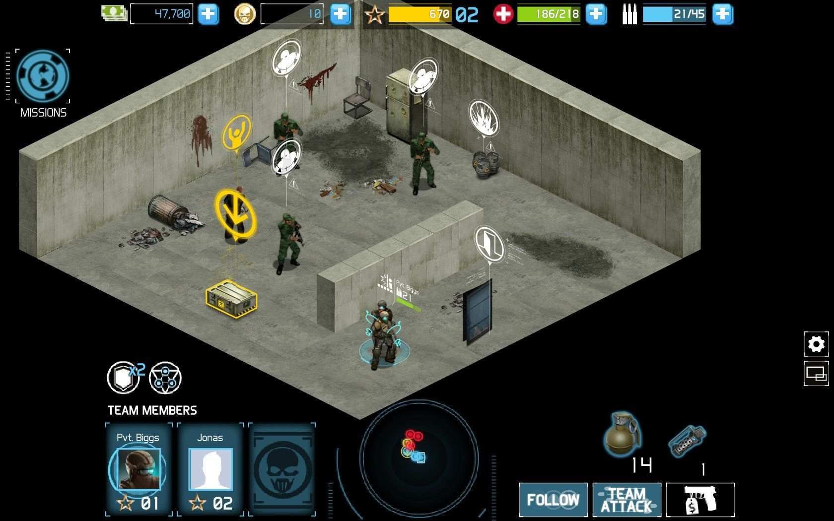Tom Clancy's Ghost Recon: Commander Browser Entering a house.