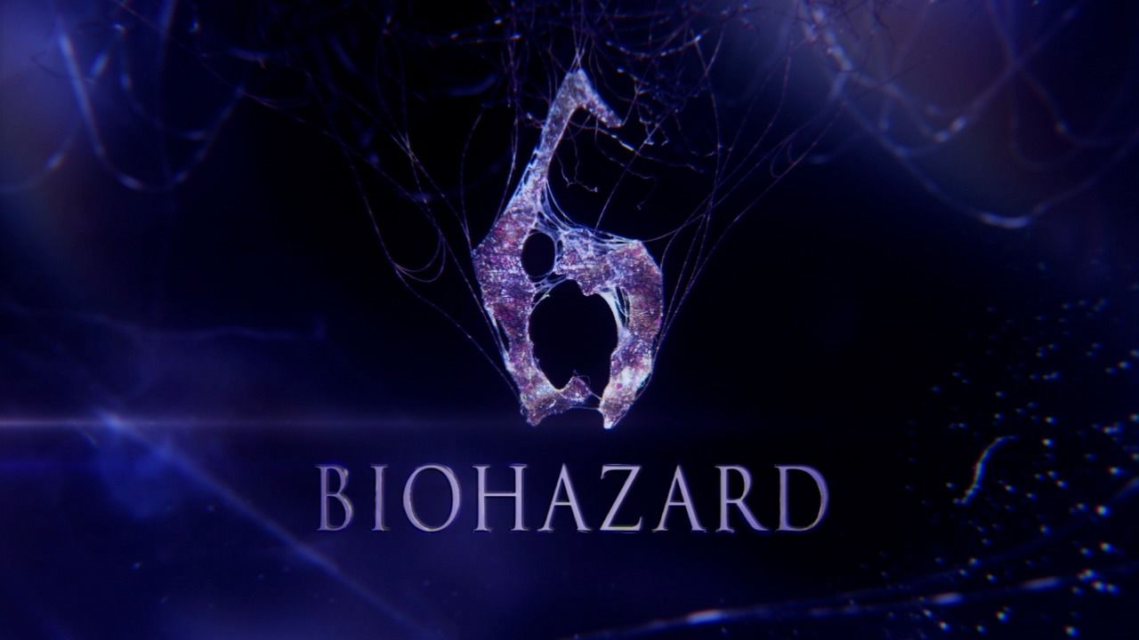 Resident Evil 6 PlayStation 3 Title screen (Japanese version)