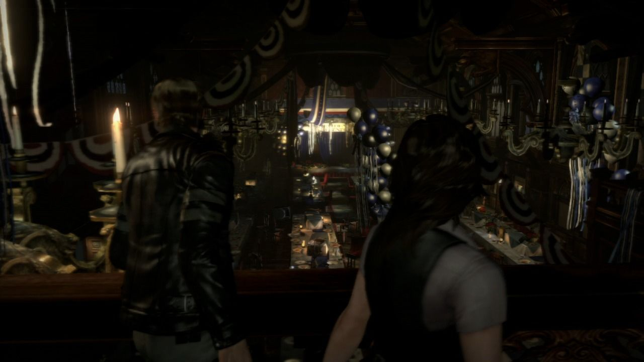 Resident Evil 6 PlayStation 3 This party doesn't seem so lively... where are all the guests?
