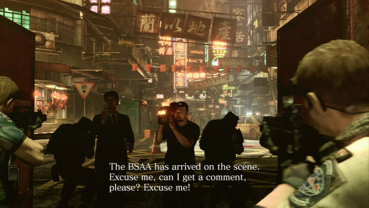 Resident Evil 6 PlayStation 3 Journalists... they're everywhere.