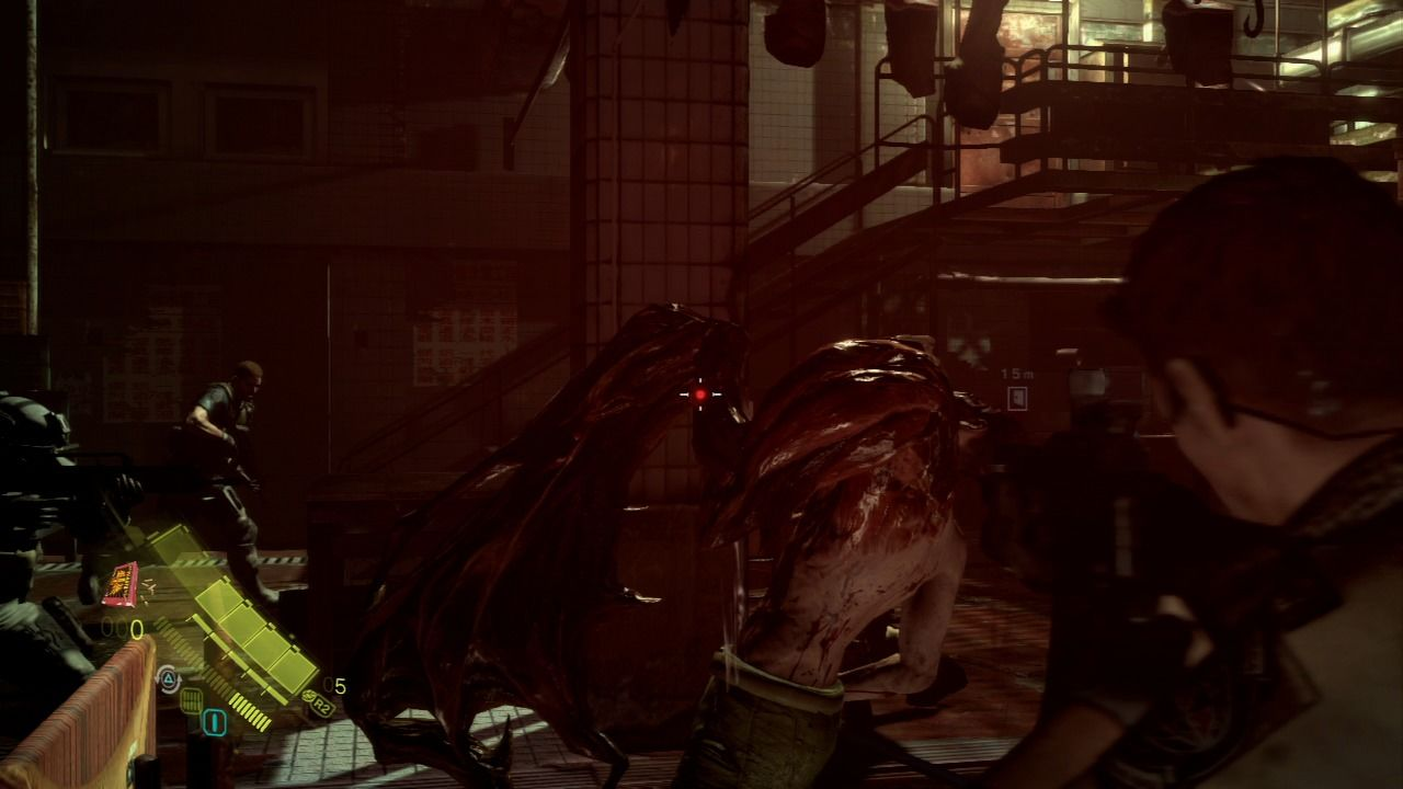 Resident Evil 6 PlayStation 3 Mutated J'avos require a bit more time to deal with.