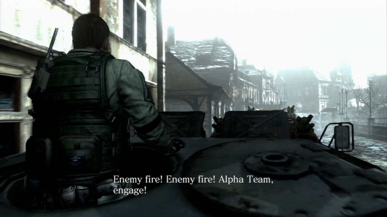 Resident Evil 6 PlayStation 3 Chris and his BSAA buddies somewhere in Europe, fighting the bio-terrorism.