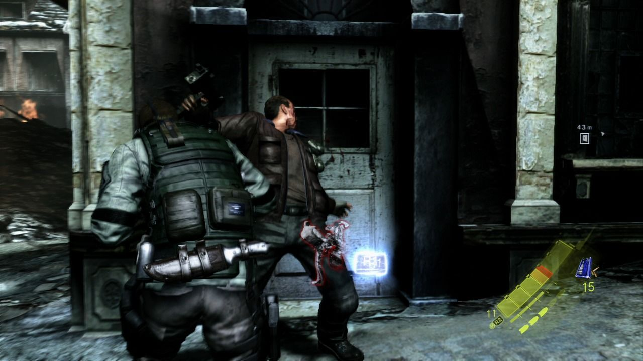 Resident Evil 6 PlayStation 3 Close combat can be very useful, but it is draining your stamina.