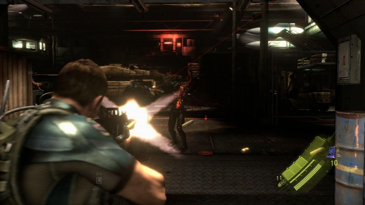Resident Evil 6 PlayStation 3 Be sure to help your partner in combat.