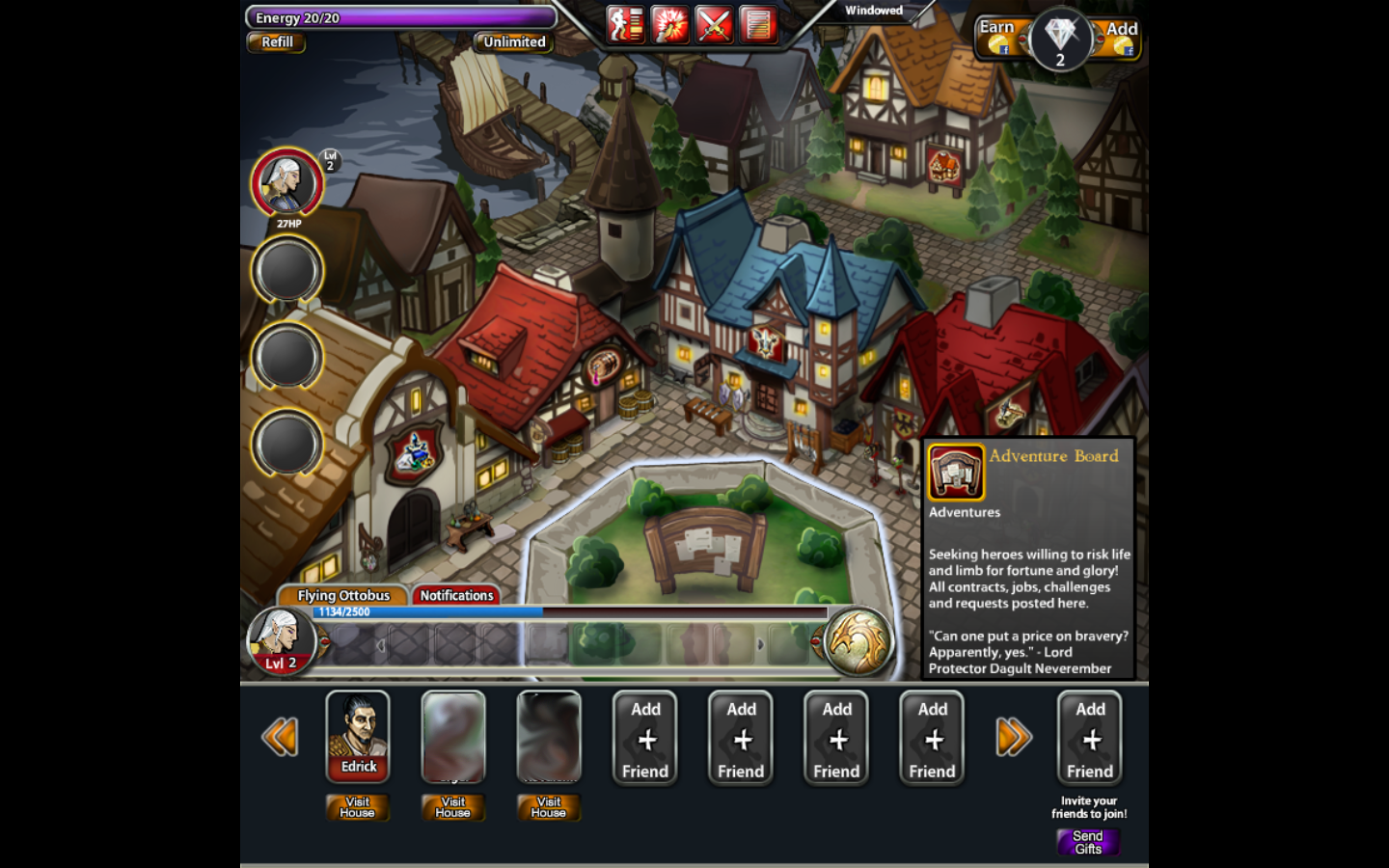 Dungeons & Dragons: Heroes of Neverwinter Browser I thought Neverwinter was a big city.