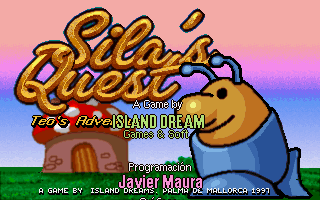 Sila's Quest DOS Title Screen.