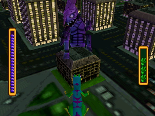 Gex 3D: Enter the Gecko Windows A fight of gigantic proportions