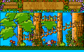 Treasure Island Dizzy Amiga The forest floor is just pretty
