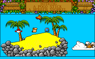 Treasure Island Dizzy Amiga An island in the sky