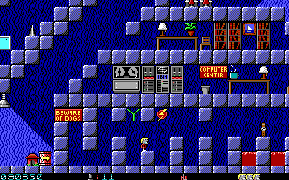 Secret Agent DOS Episode 1: even simple EGA graphics allow nice shading