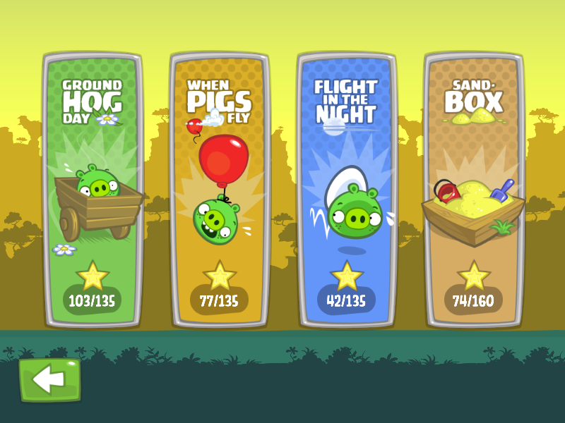 Bad Piggies Windows Stage Select