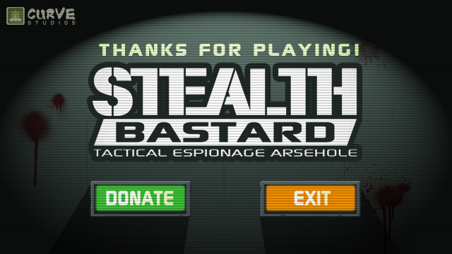Stealth Bastard: Tactical Espionage Arsehole Windows Thanks for letting me!