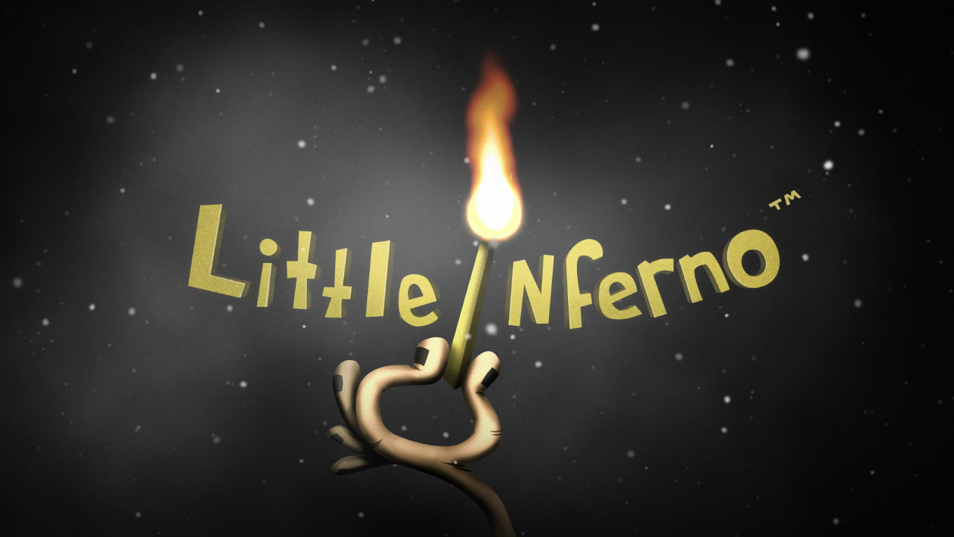 Little Inferno Windows Title screen