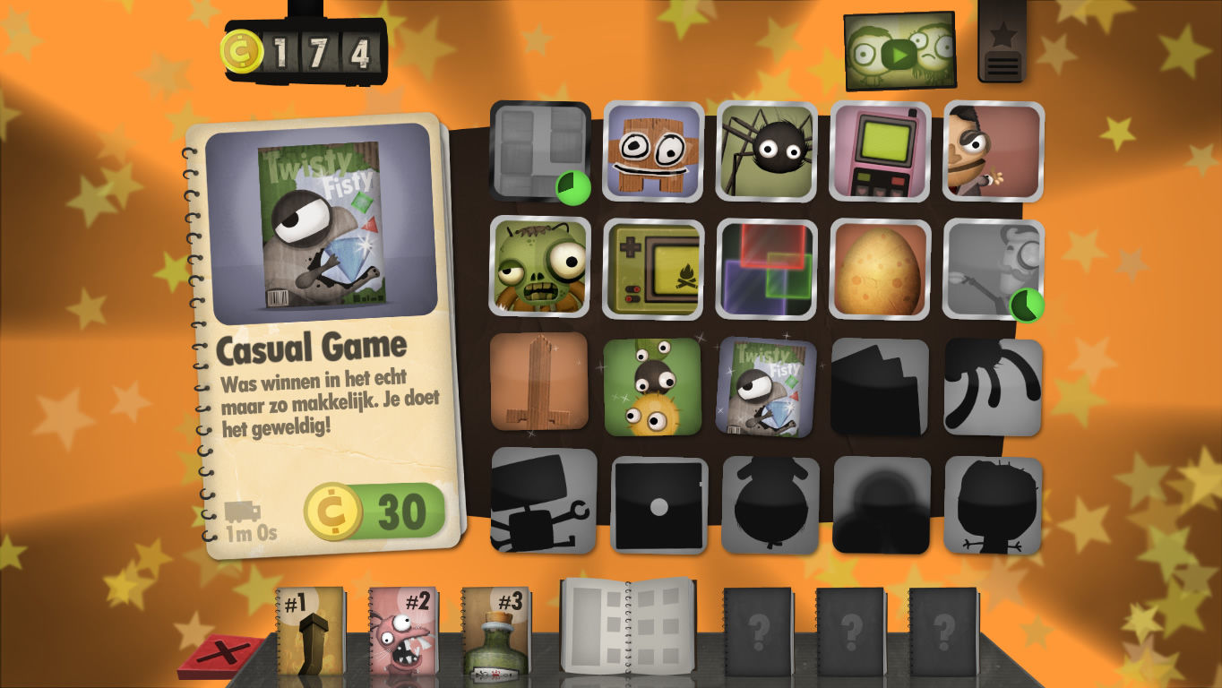Little Inferno Windows The fourth catalog. There is a delay on two items here and seven are left to be unlocked (Dutch version).