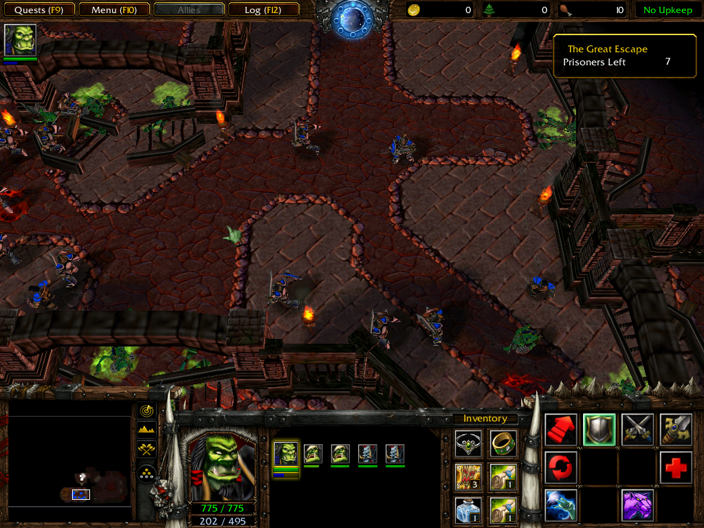 Warcraft III: Reign of Chaos (Demo Version) Windows Humans have broken free...