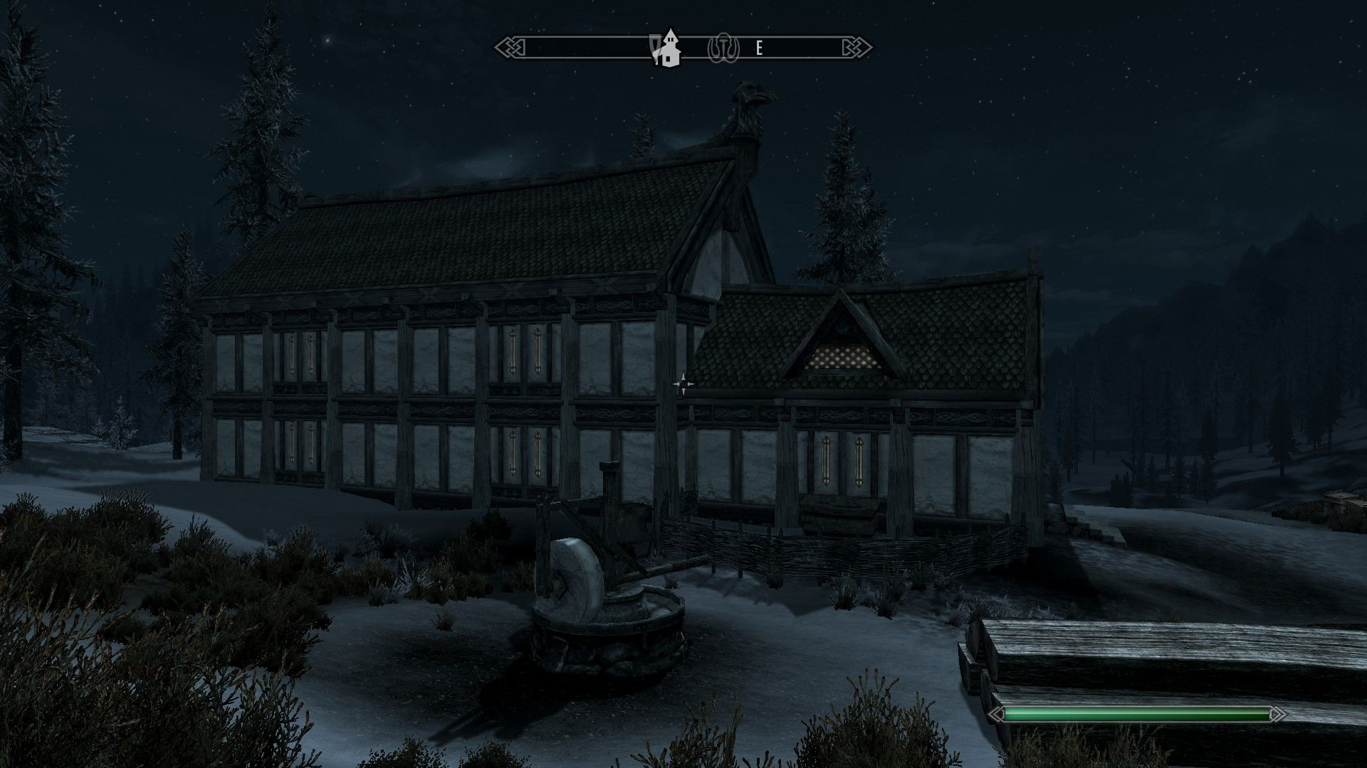 The Elder Scrolls V: Skyrim - Hearthfire Windows Main hall extension built