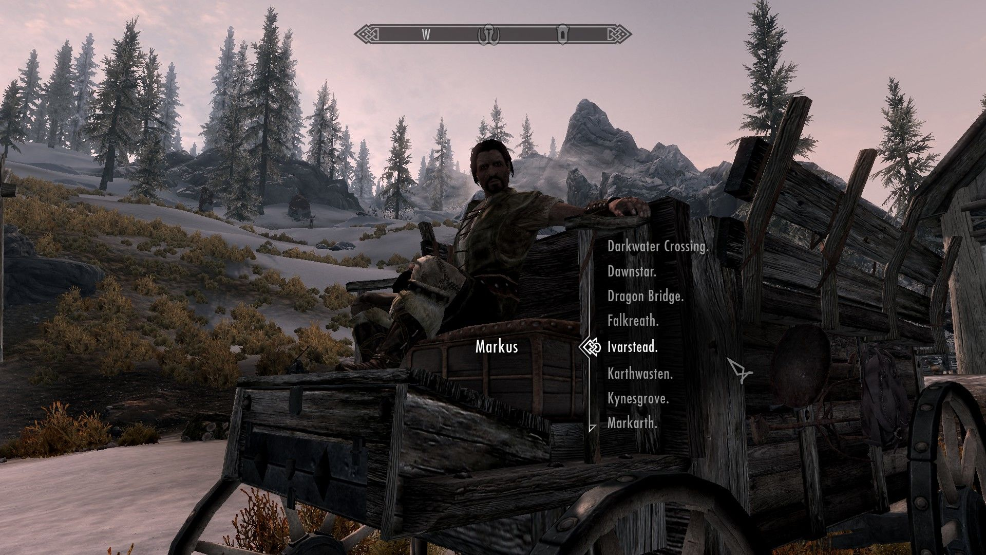 The Elder Scrolls V: Skyrim - Hearthfire Windows Markus, the carriage driver