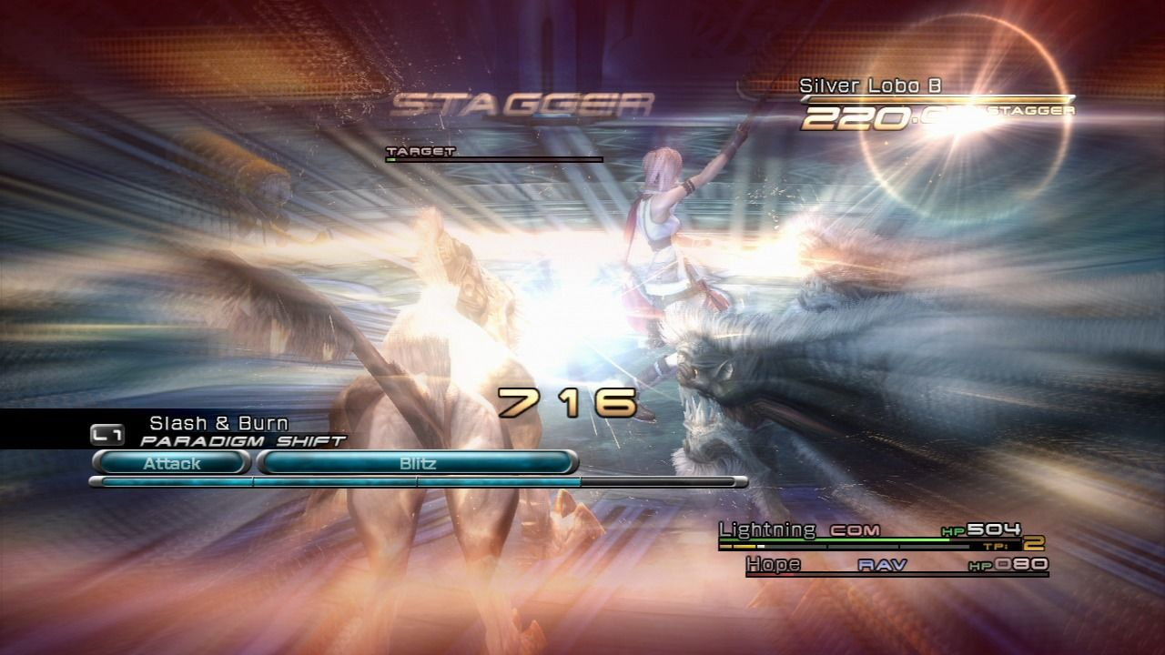 Final Fantasy XIII PlayStation 3 After staggering the enemy, they will be much more susceptible to any type of attack.