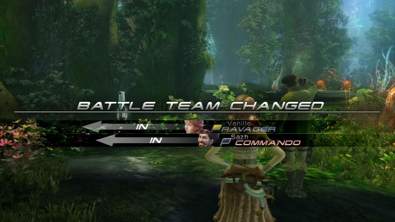 Final Fantasy XIII PlayStation 3 You will often switch teams as the story progresses.
