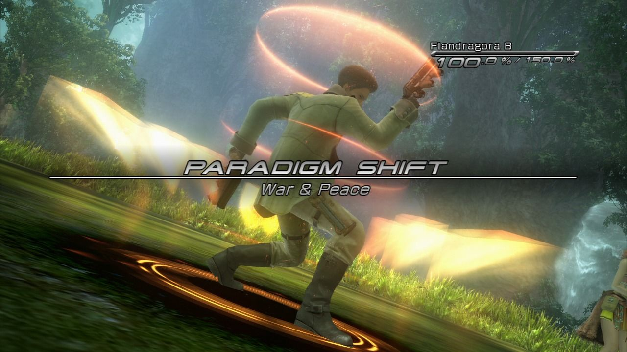 Final Fantasy XIII PlayStation 3 Paradigm shift