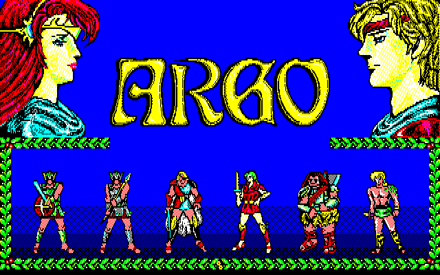 Argo PC-88 Title screen