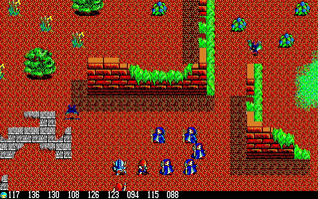 Silver Ghost PC-88 Your magician team explores some ruins..