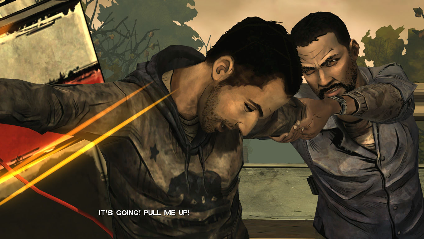 The Walking Dead Windows Episode 3 - Omid needs to help Lee out.