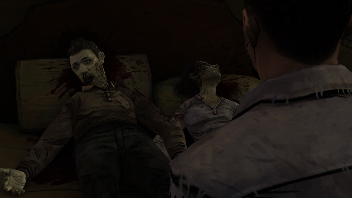 The Walking Dead Windows Episode 5 - A dead couple